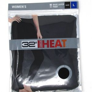 New Ladies Black 32 Degrees Pants